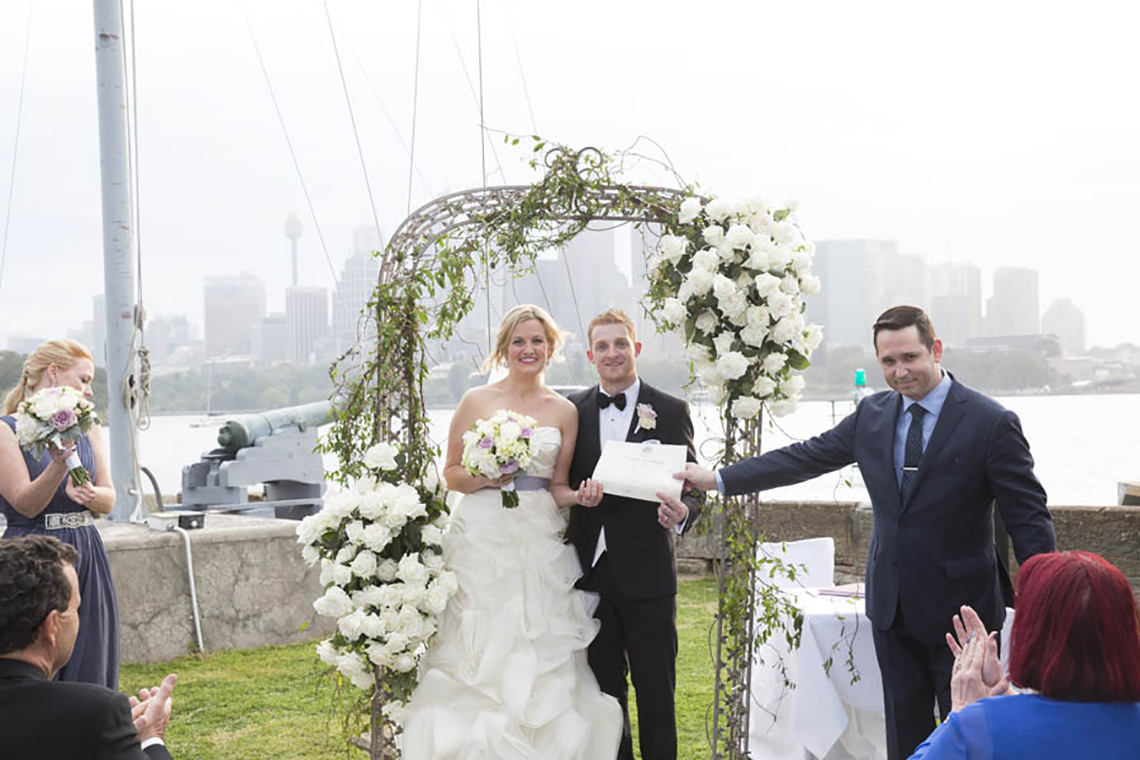 Emma and Andy get married